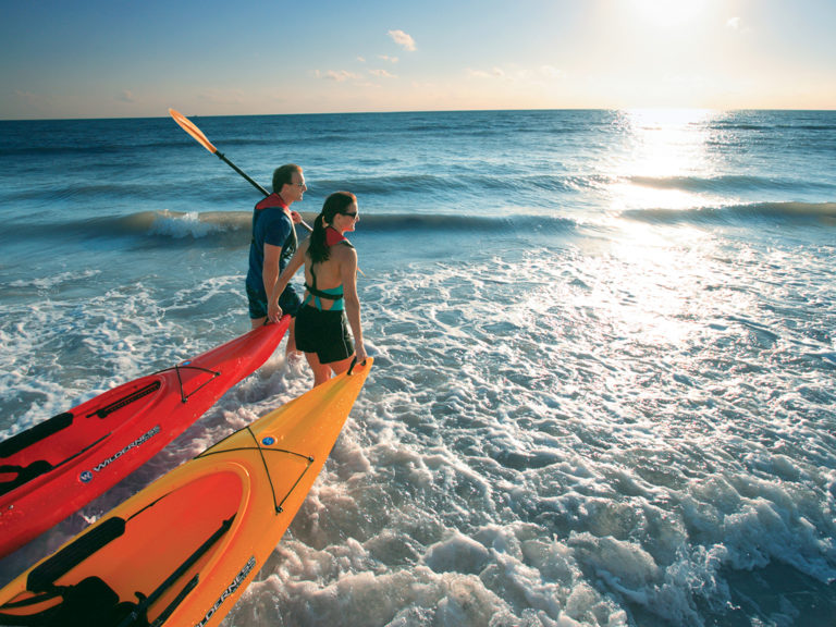 Beach kayaks/The Beaches of Fort Myers & Sanibel